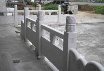 福建石雕厂家介绍什么是石栏杆?
