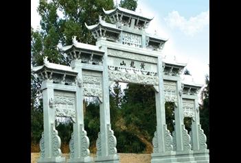 寺庙山门和石门牌坊有什么区别