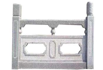 福建石雕厂家分享石雕栏杆的设计有哪些要求?