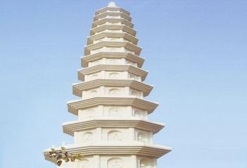 中国传统寺庙古建的石塔是用来干什么的?