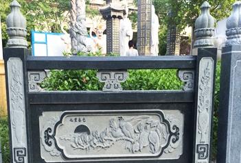 中国传统古建石材栏板常见的雕刻图案及寓意