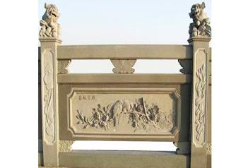 石材栏杆在城市景观发挥了各种的价值及应用