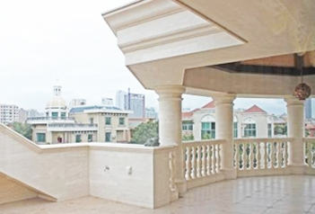 别墅建材用大理石栏杆好不好?它的优缺点有哪些?