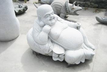 大理石材质的石雕佛像破损的修复处理方法