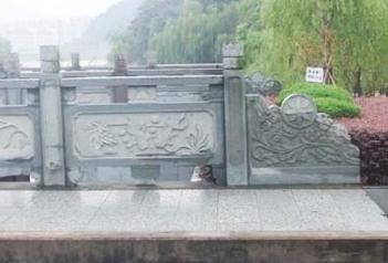 福建石雕厂家带大家了解青石栏杆雕刻及安装技术