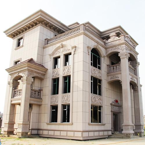 别墅建材供应厂家介绍关室外幕墙的优化设计新知识