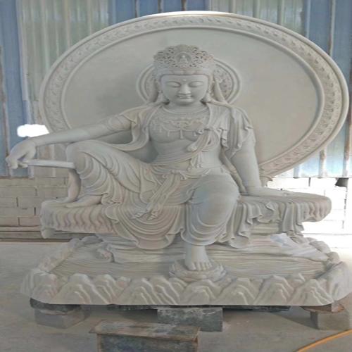 福建石雕厂家在雕刻石雕佛像时常用的几种石材有哪些呢?