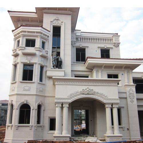 别墅建筑建材