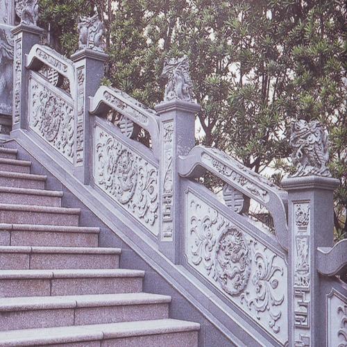 石雕麒麟石材栏杆