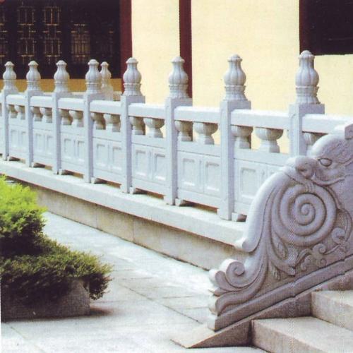 寺院景观石材栏杆