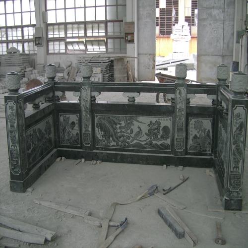 传统古建石材栏杆