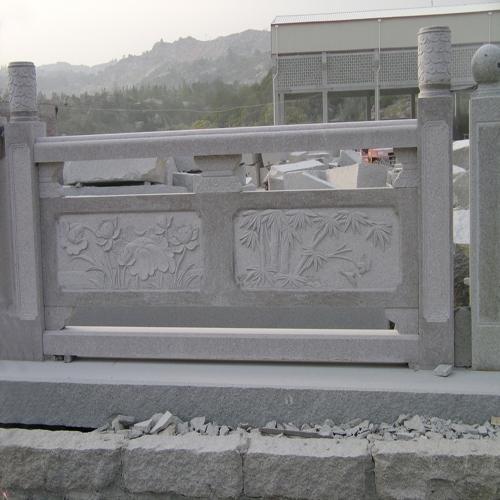 花草浮雕石材栏杆