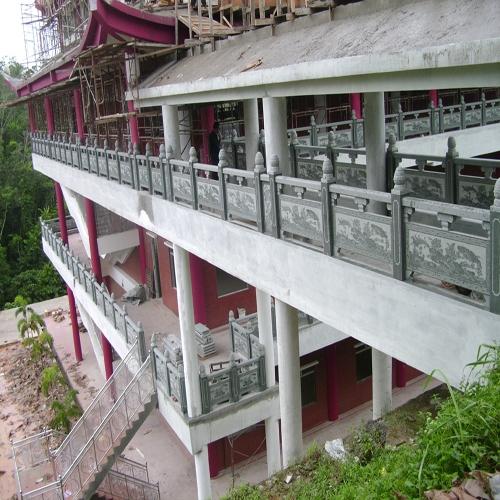 寺庙建筑石材栏杆项目