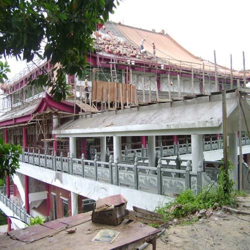 寺庙景观石材栏杆