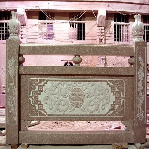 花岗岩雕刻石材栏杆