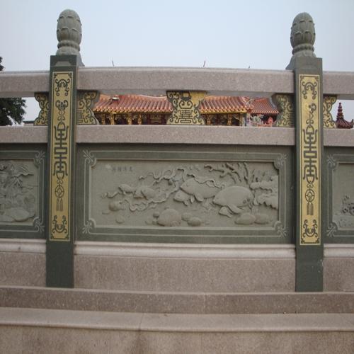 宗祠古建石材栏杆