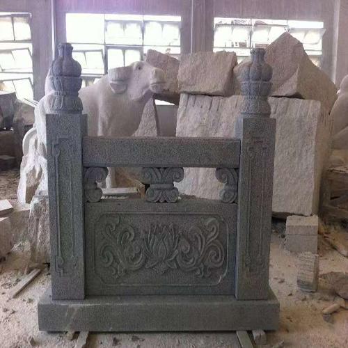 传统浮雕石材栏杆
