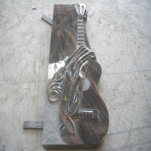 欧式墓碑-吉他定制墓碑
