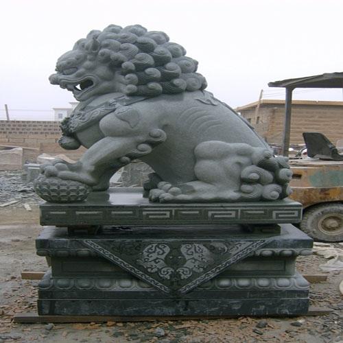 狮子石兽石材