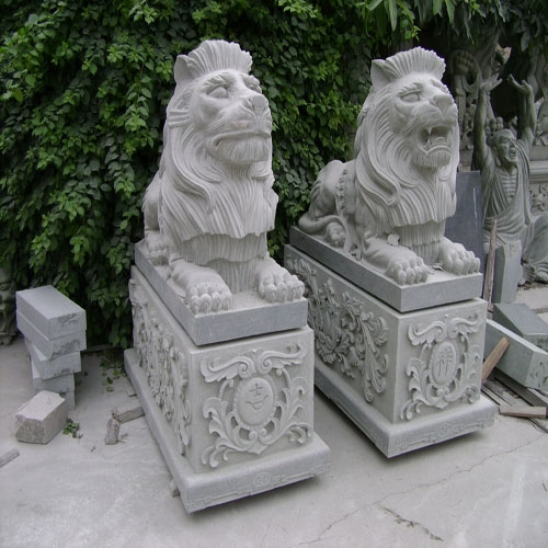 狮子神兽石雕