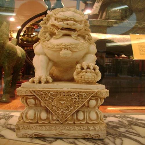 狮子石兽石雕