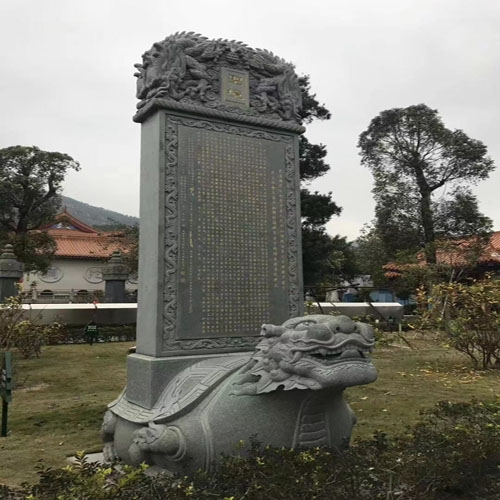 纪念壁石雕