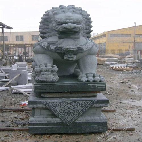 狮子石兽-4