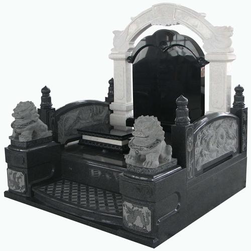 中式墓碑-3