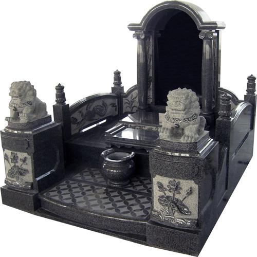 中式墓碑-4