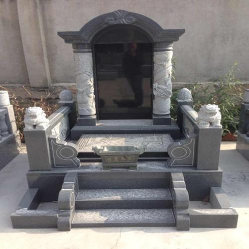 中式墓碑-5