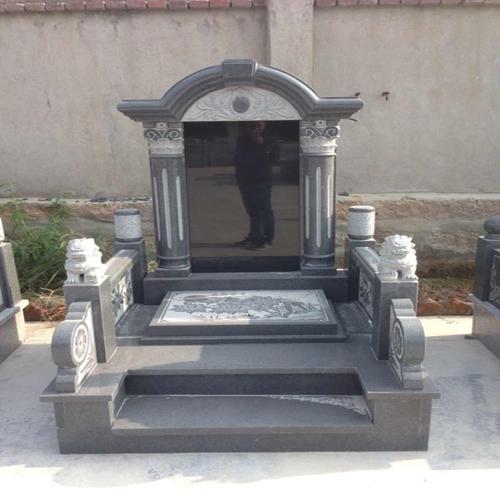 中式墓碑-6