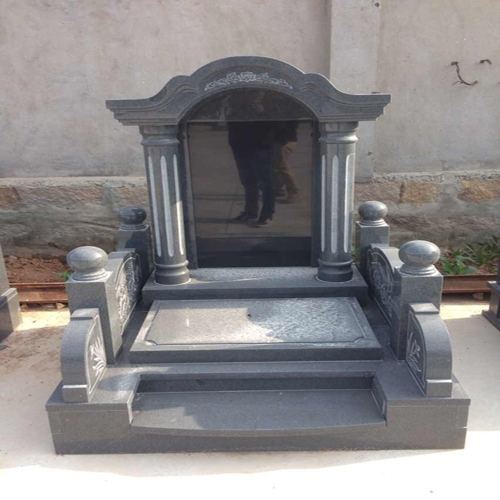中式墓碑-8