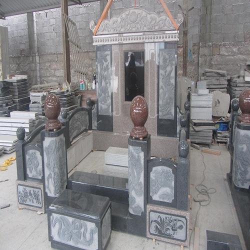 中式墓碑-13