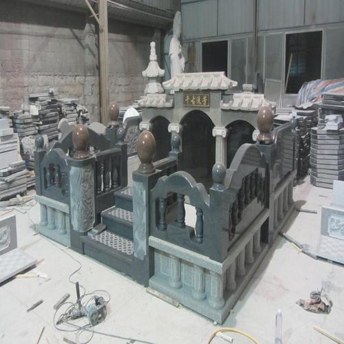 中式墓碑-14