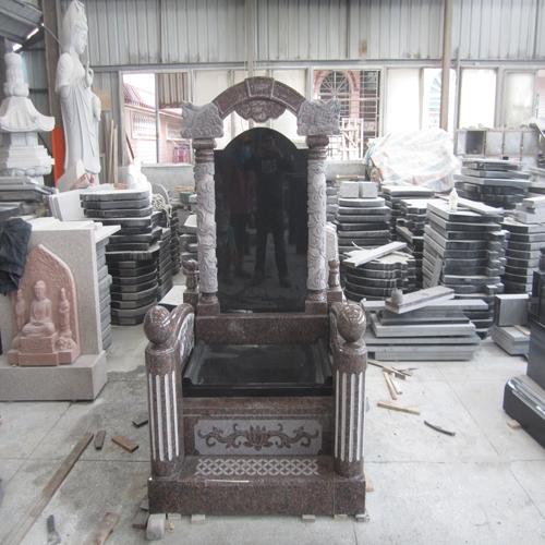 中式墓碑-15