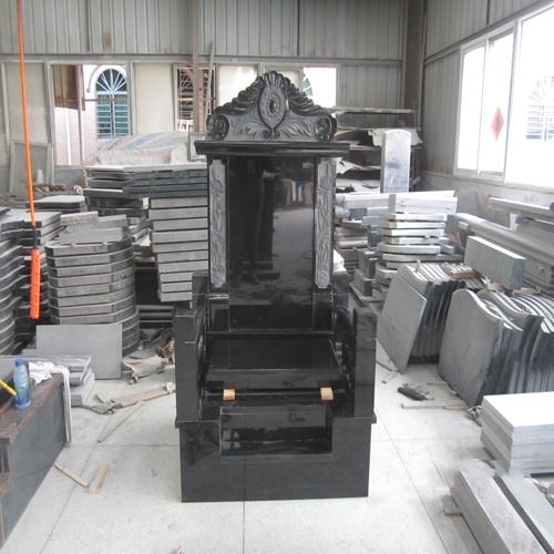 中式墓碑-16