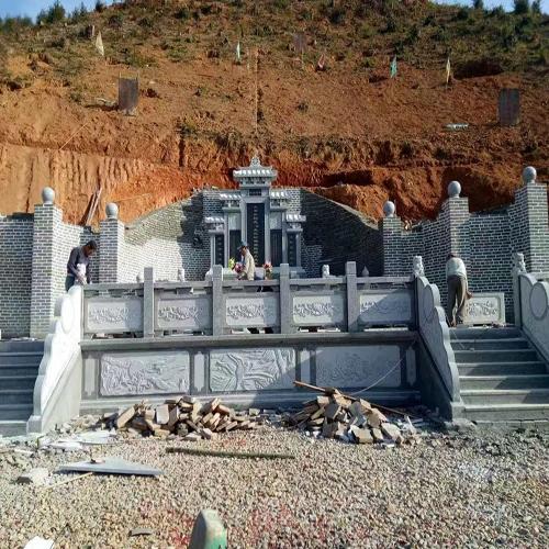 中式墓园墓碑