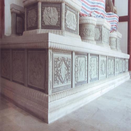 寺庙石墩石雕