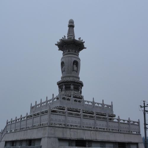 昆山石塔雕塑