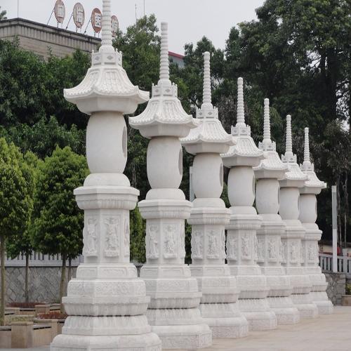 昆山寺庙石墩