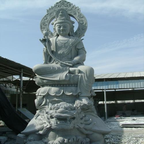 寺庙观音雕塑