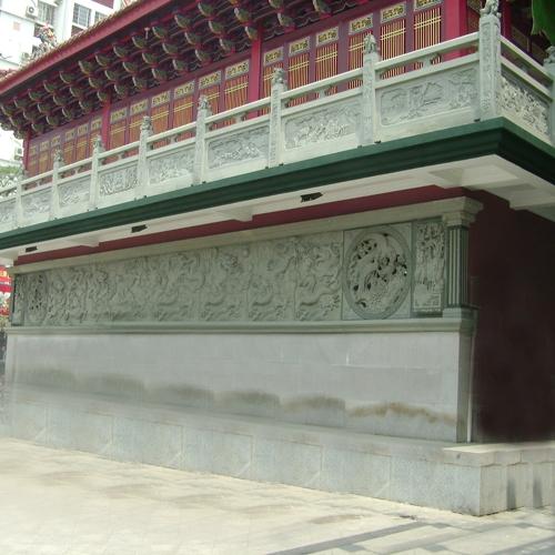 寺庙古建浮雕