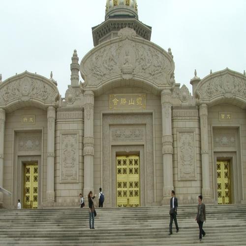 昆山灵山寺庙